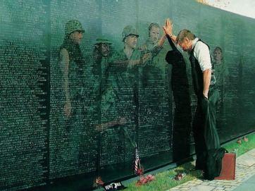 art: Vietnam War Memorial
