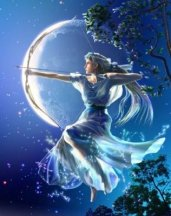 Diana goddess of the moon