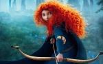 """Pixar """"Brave""""  female protagonist Merida"""