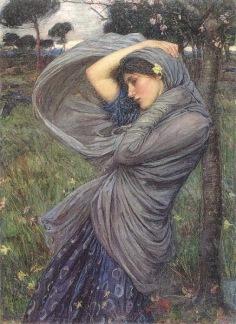 Blue Gypsy woman