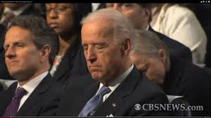 The VP falls asleep in congress